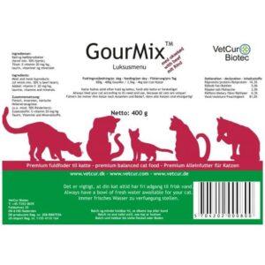 GourMix Kat okse - 400 g vådfoder info