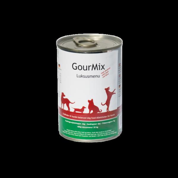 GourMix luksusmenu med oksekød