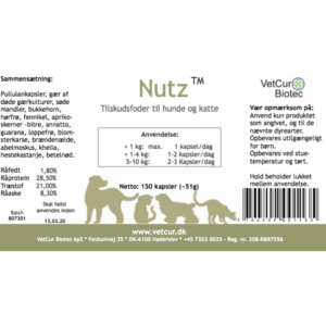 nutz hund info